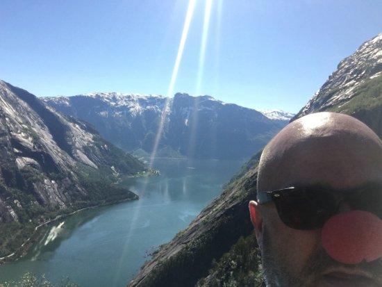 Eidfjord Municipality, Noruega: Beam me up Scotty