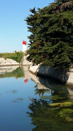 Saint-Denis d'Oleron, Frankrig: Les phares de l'Ile d'Aix