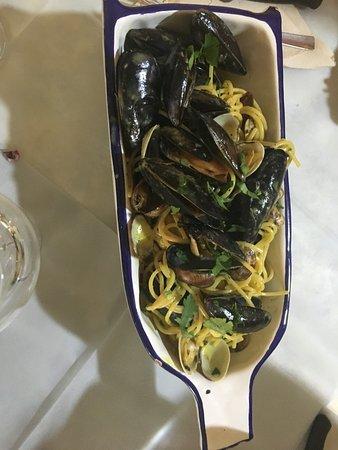 Collazzone, Italy: carbonara di mare