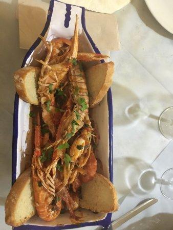 Collazzone, Italy: zuppetta di crostacei