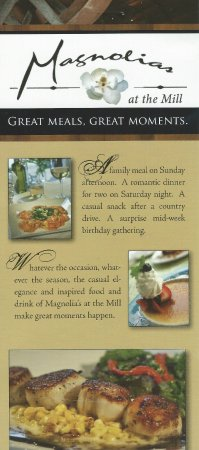 Purcellville, VA: Magnolias at the Mill pamphlet