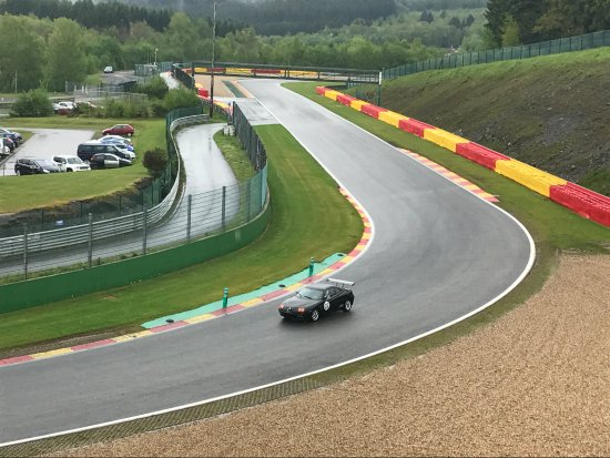 Circuit de Spa-Francorchamps : la piste.