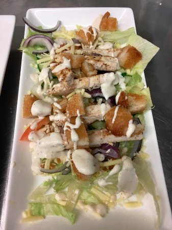 Aberdare, UK: Chicken Caesar Salad