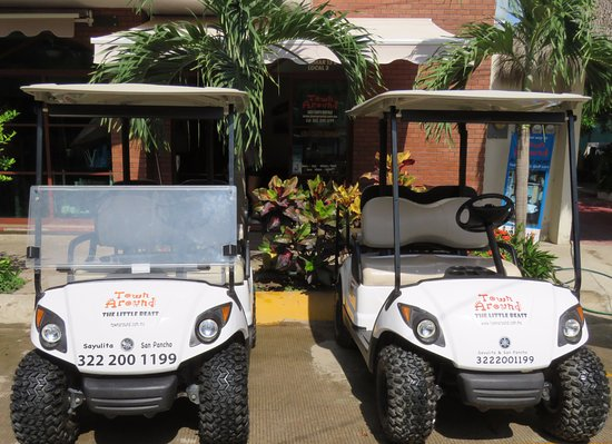 Sayulita, Meksika: Fuel Injection and Regular fleet. Yamaha Gas Golf Carts