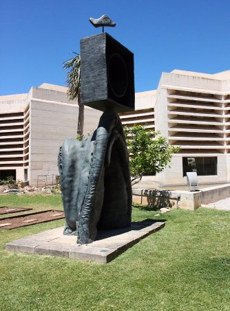 Pilar and Joan Miro Foundation in Mallorca: Sculpture in the garden