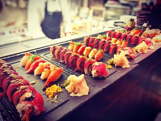 sushi drottninggatan helsingborg