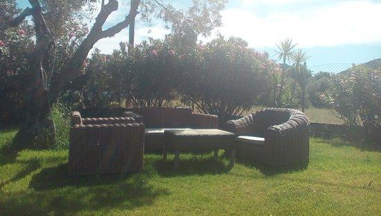 Skiathos Tennis Club U0026 Leisure Center: Comfortable Patio Furnishings Within  The Grounds.