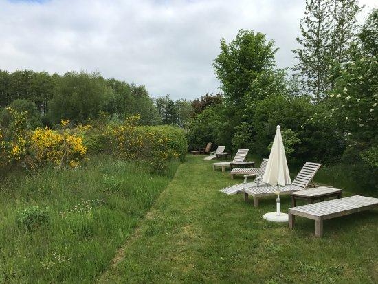 Wieck, Germania: Relaxbereich im Garten