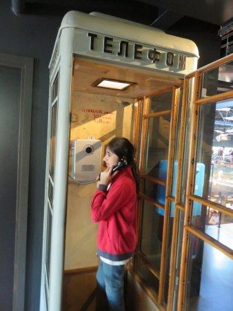 cabina telefonica sovietica - picture of riga motormuseum, riga ... - Cabina Telefonica