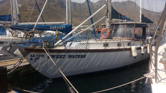 Hout Bay, Südafrika: At moorings