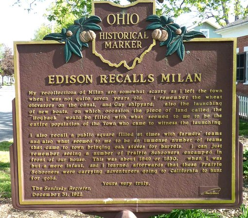 ‪‪Milan‬, ‪Ohio‬: Edision's Recollection of Milan ‬