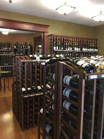 Vino villa: Wine store