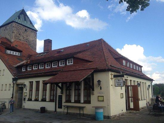 Burg Hohnstein: Burgschänke (Frühstück)
