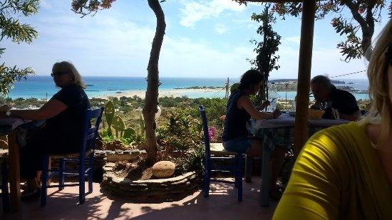 restaurant met mooi uitzicht