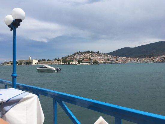 View from White Cat taverna
