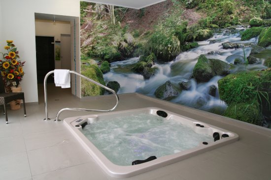 Saint-Privat, France : jacuzzi