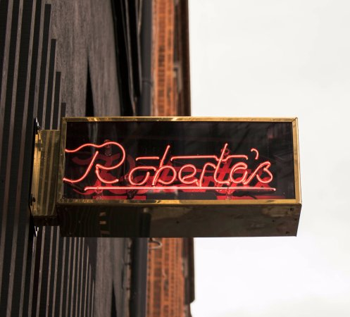 Roberta\u0027s Restaurant Bar \u0026 Terrace: Roberta\u0027s Neon Sign at the front door & Roberta\u0027s Neon Sign at the front door - Picture of Roberta\u0027s ... Pezcame.Com