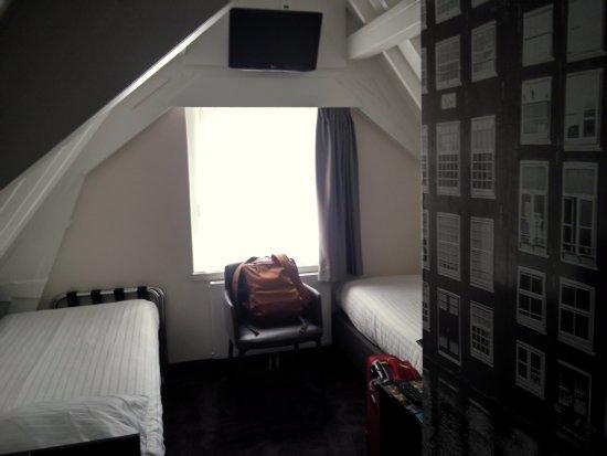 Singel Hotel Amsterdam: Habitación doble