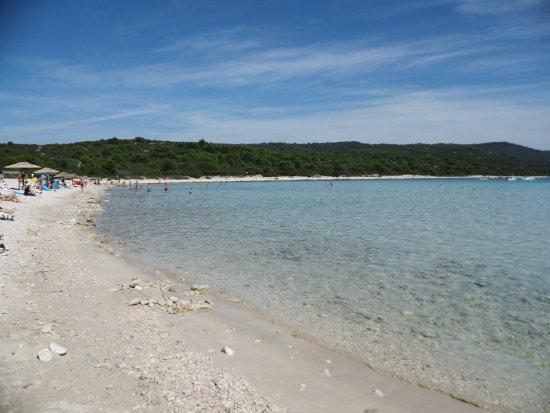 Остров Дуги, Хорватия: Piaszczyste wejście