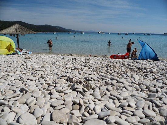 Остров Дуги, Хорватия: Otoczaki na brzegu