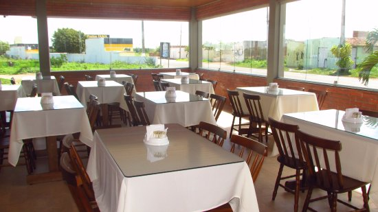 Nova Floresta, PB: Varanda Restaurante