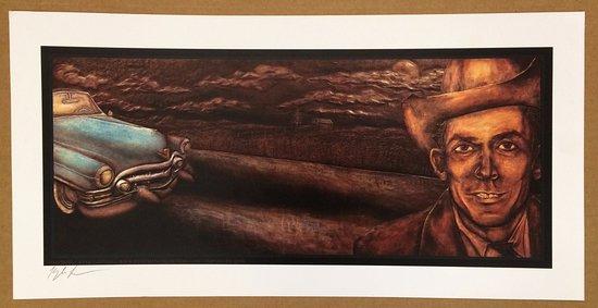 "Hank Williams Museum: Poster ""The Ride"" Art by Kyle Landas"