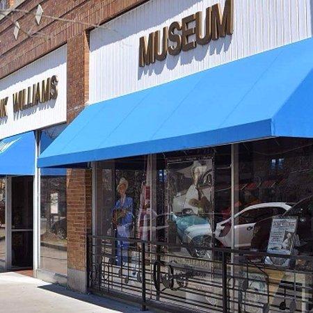 front entrance The Hank Williams Museum, Montgomery, AL