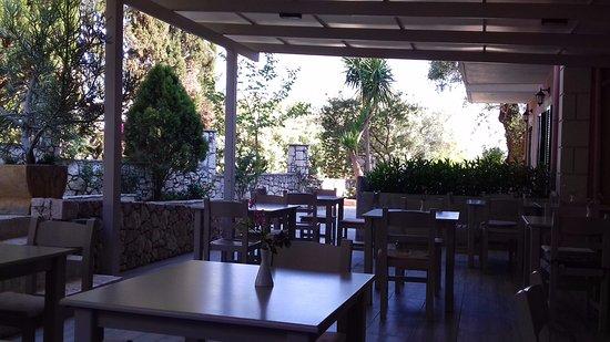 Lourdata, Grecia: Breakfast area