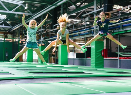GOjump Trampoline Park - biggest in Poland