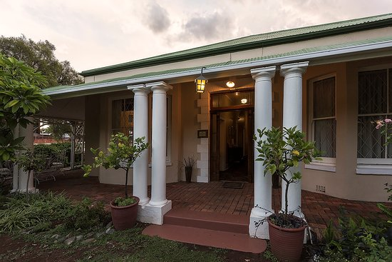 Kimberley, Sudafrica: A Victorian gem - more than 130 years old.
