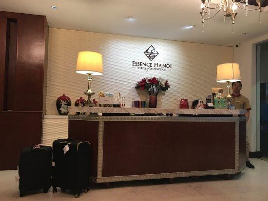 Essence Hanoi Hotel & Spa: Hotel lobby