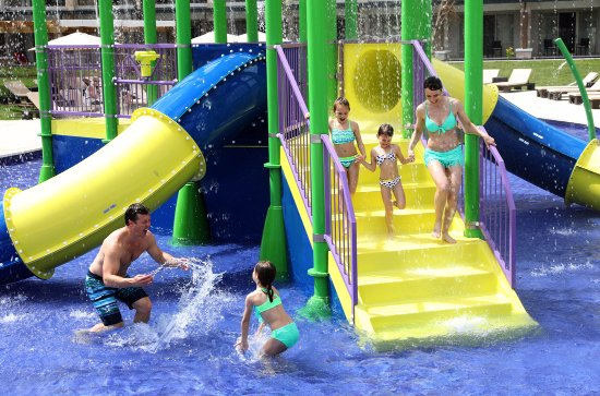 Cap Estate, Saint Lucia: Splash Park