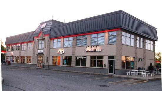 Drummondville, Canadá: 27 mai 2017 à côté du Quality Inn