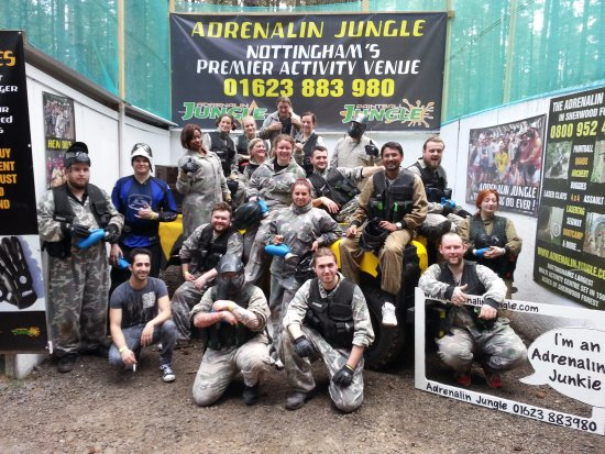 The Adrenalin Jungle: Fun day away from work!