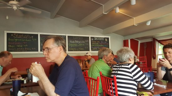 Titusville, Νιού Τζέρσεϊ: It's Nutts Restaurant