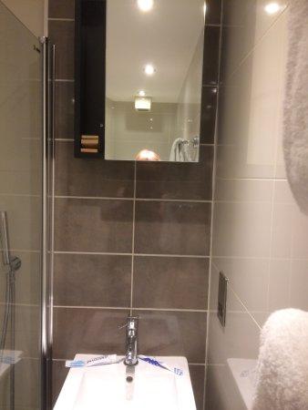Bathroom Mirror Not On The High Street bathroom mirror-so high i couldn't see in it and i'm 5ft 7
