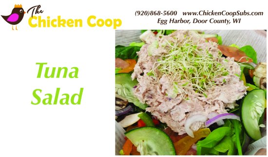 Egg Harbor, WI: Amazing Tuna Salad served fresh daily!