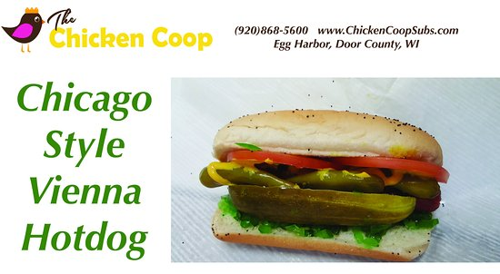 Egg Harbor, WI: Steamed to perfection!  Also try our new Dirty Dog... Bacon wrapped with chili