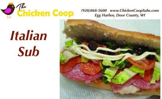 "Egg Harbor, WI: 8"" sub loaded with salami, pepperoni & pastrami! YUM!"