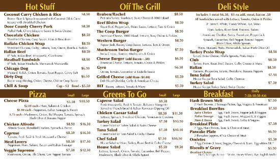 Egg Harbor, WI: Wonderful variety of both hot and cold food... We aim to please every appetite!