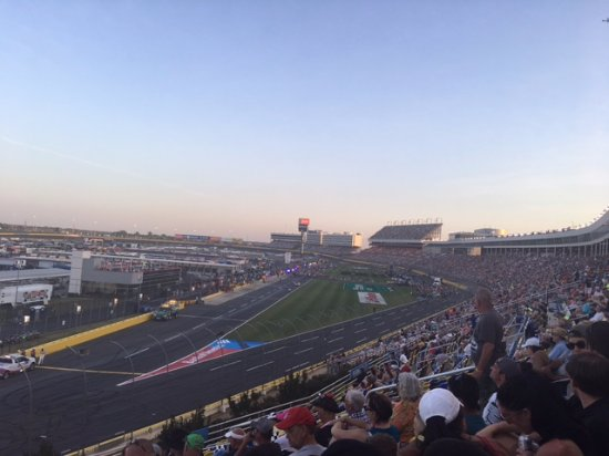 Concord, NC: At the race