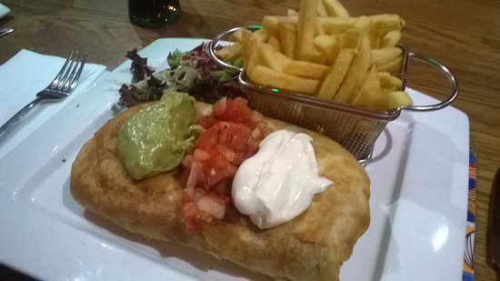 Yummy Veggie Chimichanga Picture Of Arribas Mexican Restaurant