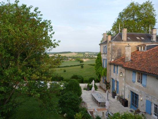 Montmoreau-Saint-Cybard, França: marvellous view