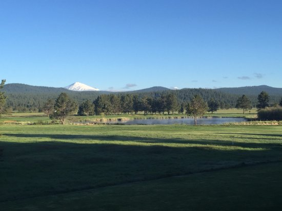 Sunriver, OR: Mt Bachelor from my room