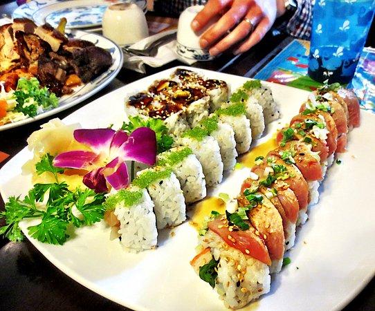 Greenfield, MA: Great specialty maki rolls