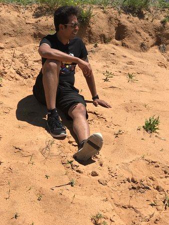 Waynoka, Oklahoma: Little sahara trip