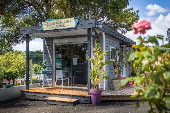 Cahuzac-sur-Vere, France: reception du camping