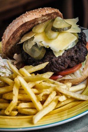 Qormi, Malta: Brutal Burger. As brutal as it can get.