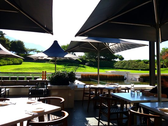 Constantia, Zuid-Afrika: View from the restuarant