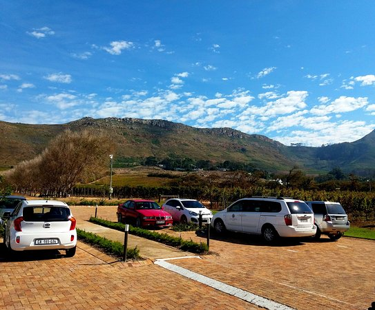 Constantia, África do Sul: The mountains in the background add the real character